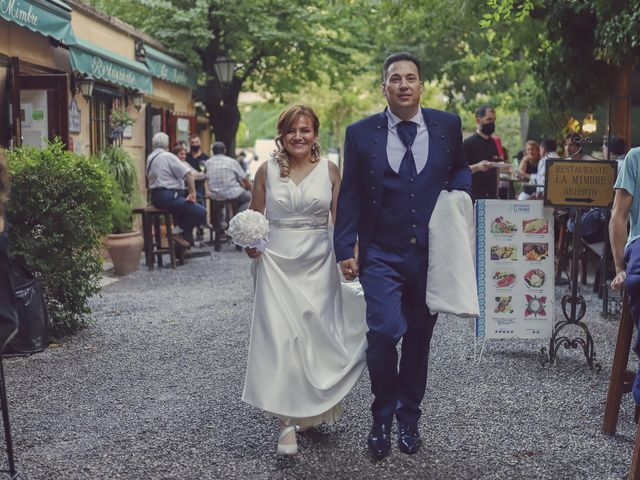 La boda de Miguel y Blanca en Granada, Granada 60