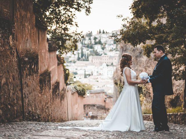 La boda de Miguel y Blanca en Granada, Granada 68