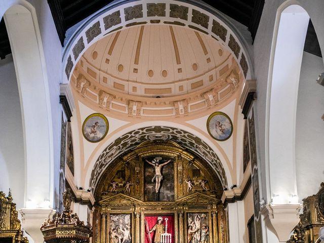 La boda de Eduardo y Inmaculada en Sanlucar La Mayor, Sevilla 17