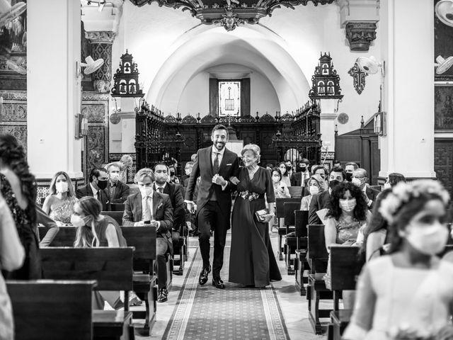 La boda de Eduardo y Inmaculada en Sanlucar La Mayor, Sevilla 19