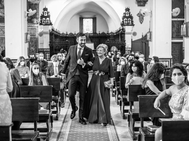 La boda de Eduardo y Inmaculada en Sanlucar La Mayor, Sevilla 21