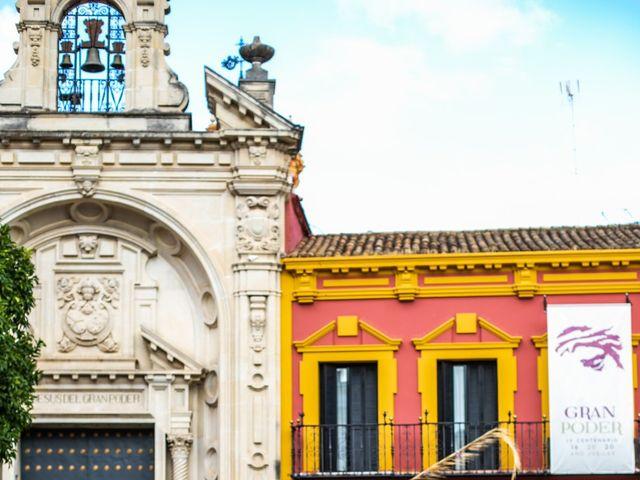La boda de Eduardo y Inmaculada en Sanlucar La Mayor, Sevilla 22