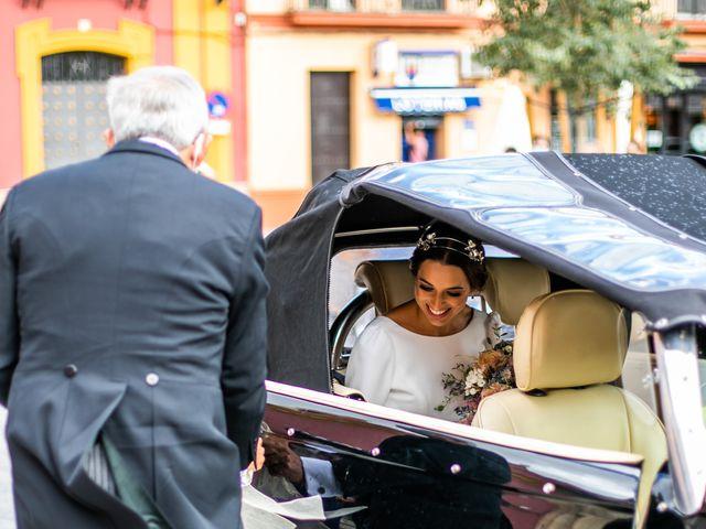 La boda de Eduardo y Inmaculada en Sanlucar La Mayor, Sevilla 24