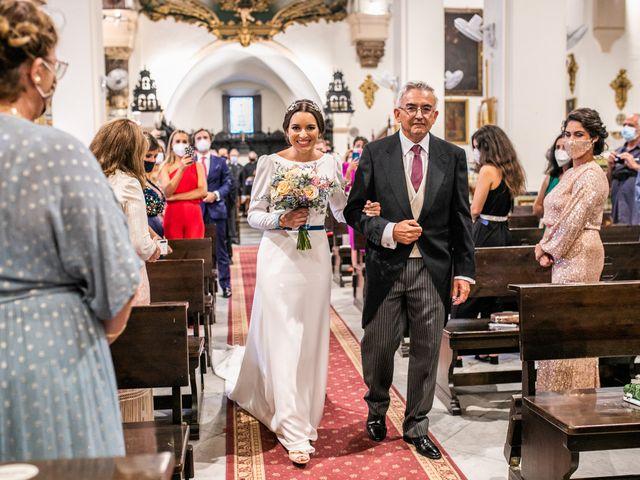 La boda de Eduardo y Inmaculada en Sanlucar La Mayor, Sevilla 30
