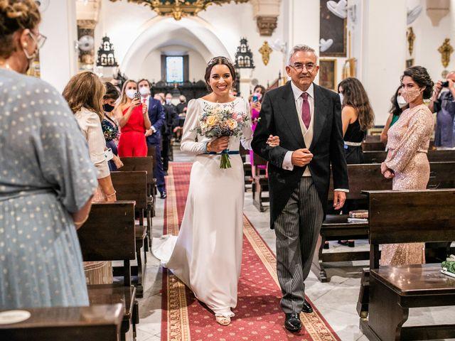 La boda de Eduardo y Inmaculada en Sanlucar La Mayor, Sevilla 31