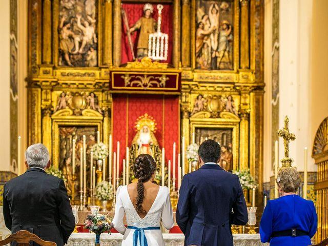 La boda de Eduardo y Inmaculada en Sanlucar La Mayor, Sevilla 33