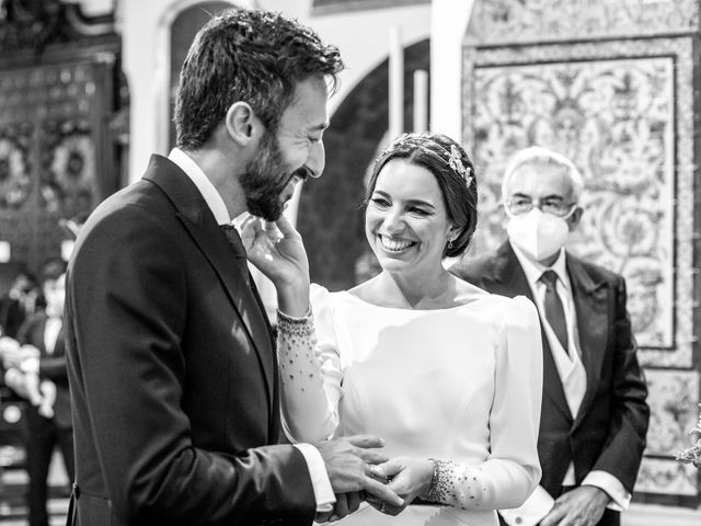 La boda de Eduardo y Inmaculada en Sanlucar La Mayor, Sevilla 40