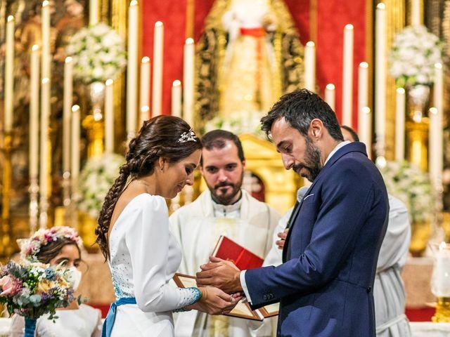 La boda de Eduardo y Inmaculada en Sanlucar La Mayor, Sevilla 41