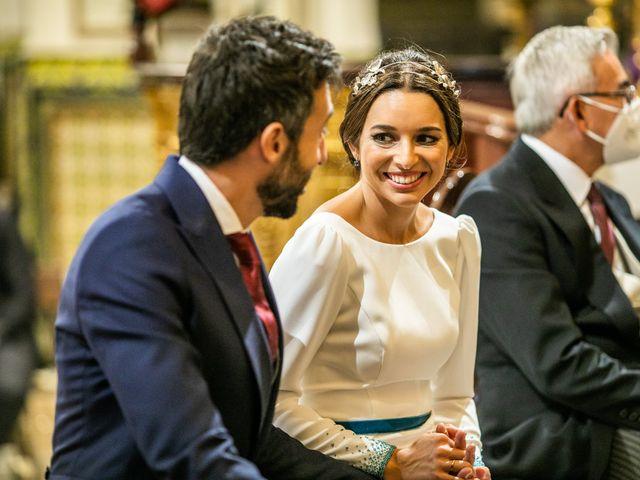 La boda de Eduardo y Inmaculada en Sanlucar La Mayor, Sevilla 44