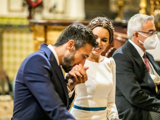 La boda de Eduardo y Inmaculada en Sanlucar La Mayor, Sevilla 45