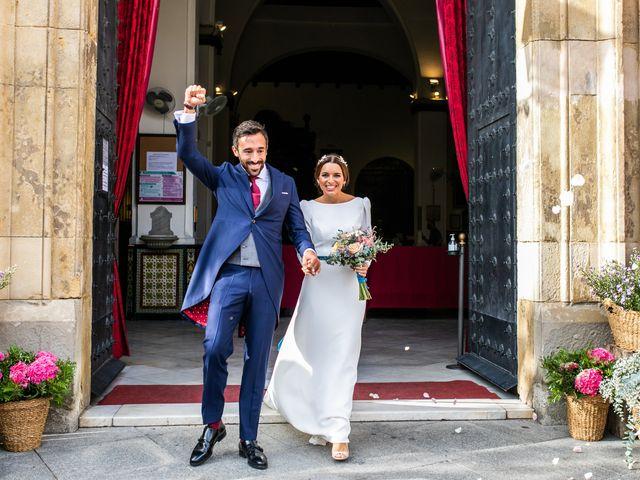 La boda de Eduardo y Inmaculada en Sanlucar La Mayor, Sevilla 46