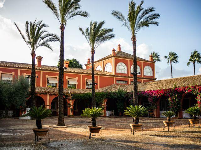 La boda de Eduardo y Inmaculada en Sanlucar La Mayor, Sevilla 54