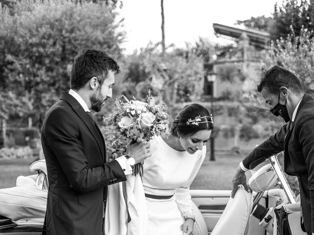 La boda de Eduardo y Inmaculada en Sanlucar La Mayor, Sevilla 57
