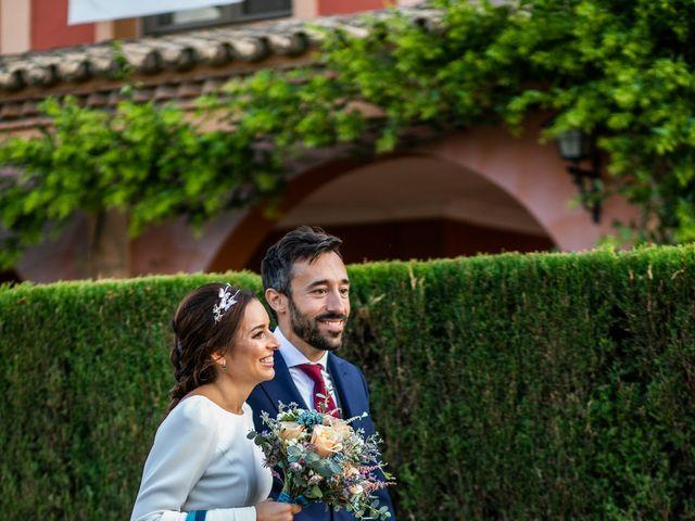La boda de Eduardo y Inmaculada en Sanlucar La Mayor, Sevilla 58