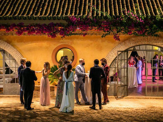 La boda de Eduardo y Inmaculada en Sanlucar La Mayor, Sevilla 87