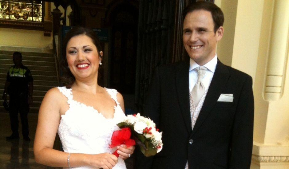 La boda de Paula y Ángel en Málaga, Málaga