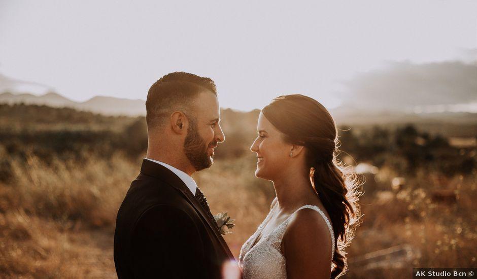 La boda de Adrian y Tamara en Llers, Girona
