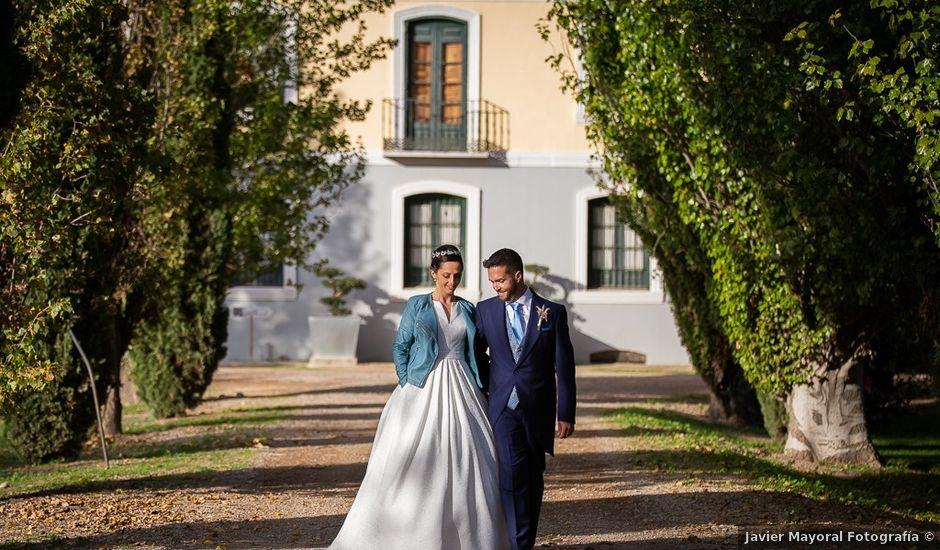 La boda de Sergio y Natalia en Alfajarin, Zaragoza
