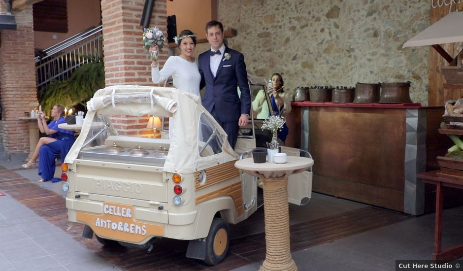 La boda de Óscar y Marta en Girona, Girona