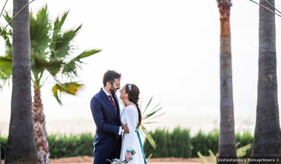 La boda de Eduardo y Inmaculada en Sanlucar La Mayor, Sevilla