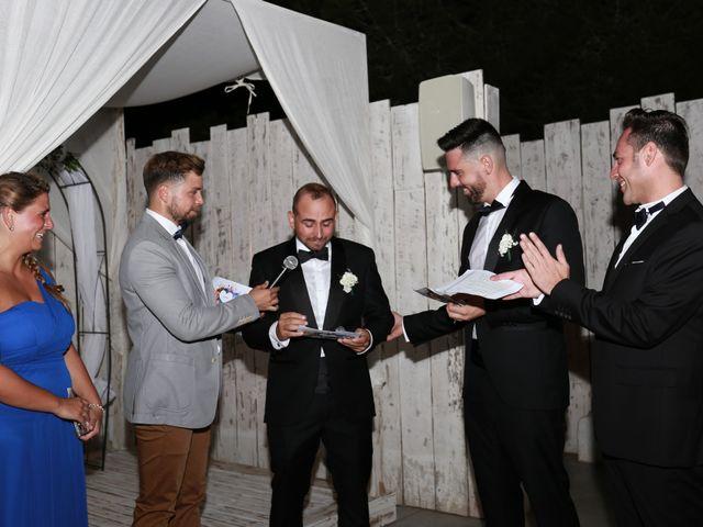 La boda de David y Brais en Islas Baleares 12