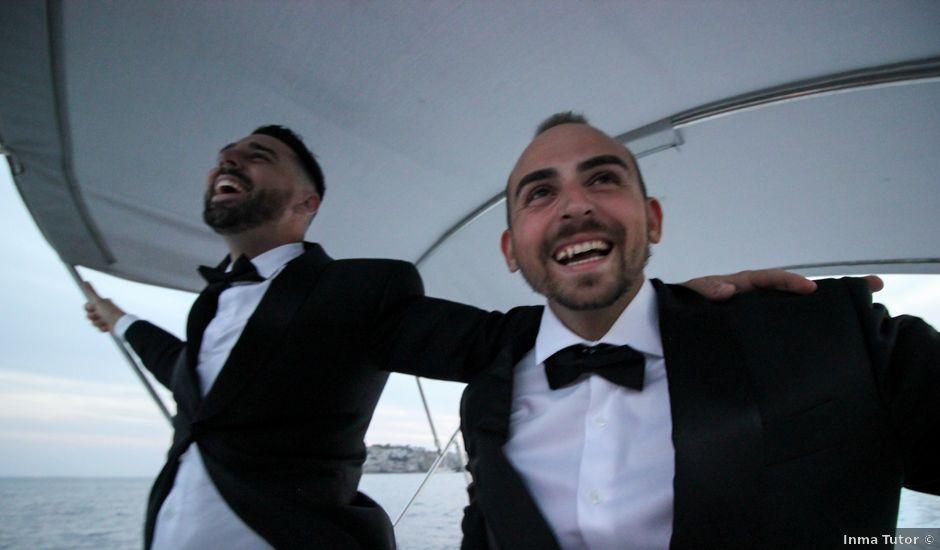 La boda de David y Brais en Islas Baleares