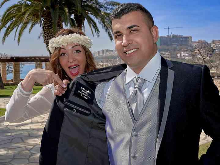 La boda de Antonella y kiko