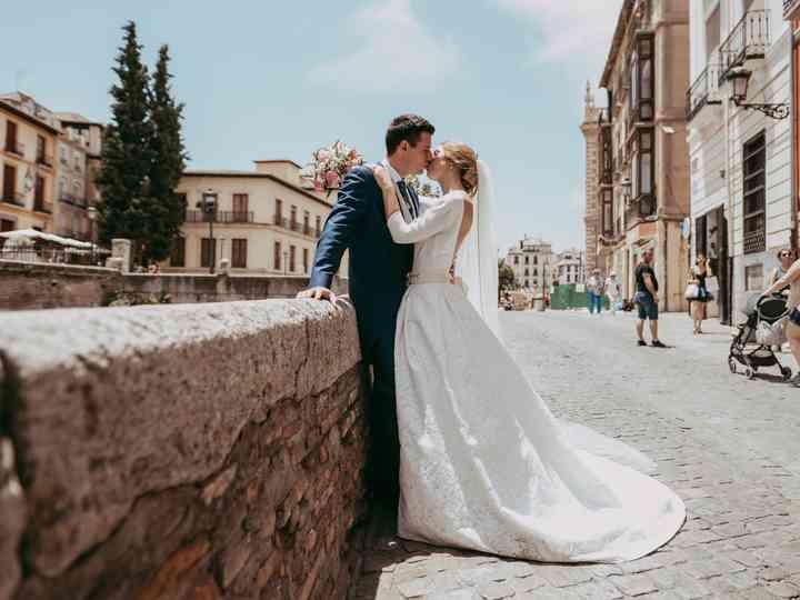 La boda de Cristina y Bernarno