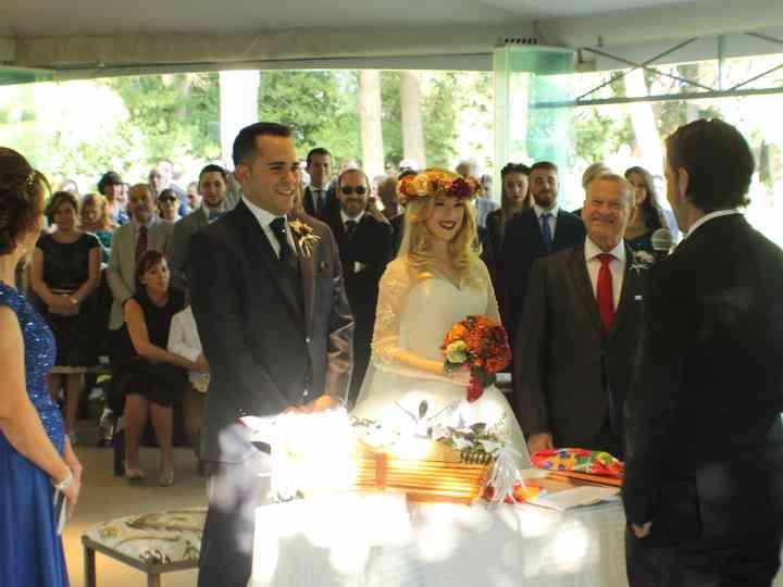 La boda de Alicia y Pedro Luis