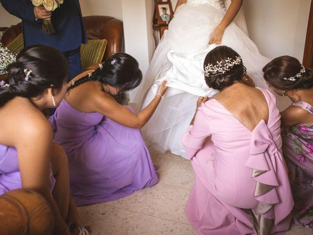 La boda de Javi y Eva en Zafra, Badajoz 17