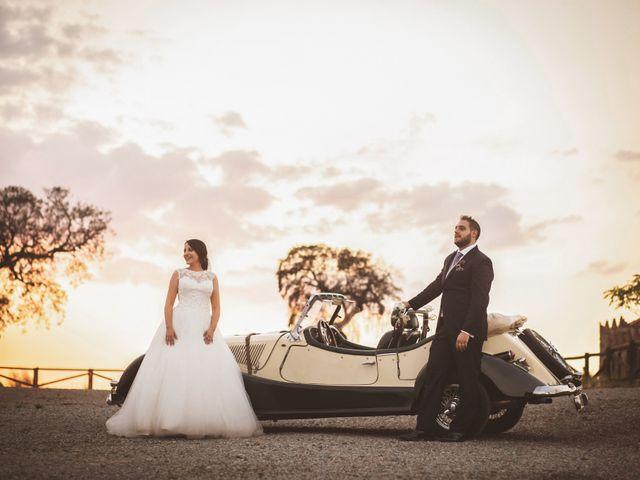 La boda de Javi y Eva en Zafra, Badajoz 31