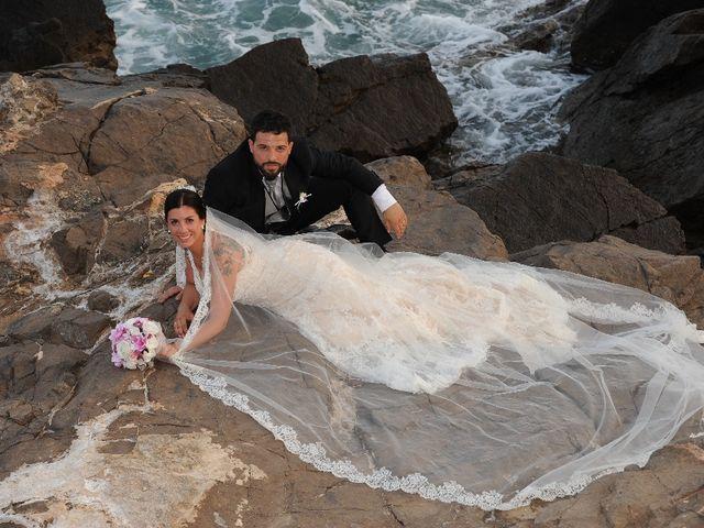 La boda de Javier  y Laura  en Vilanova I La Geltru, Barcelona 22