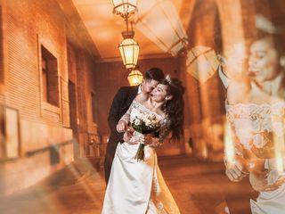 La boda de Abril y Geovany