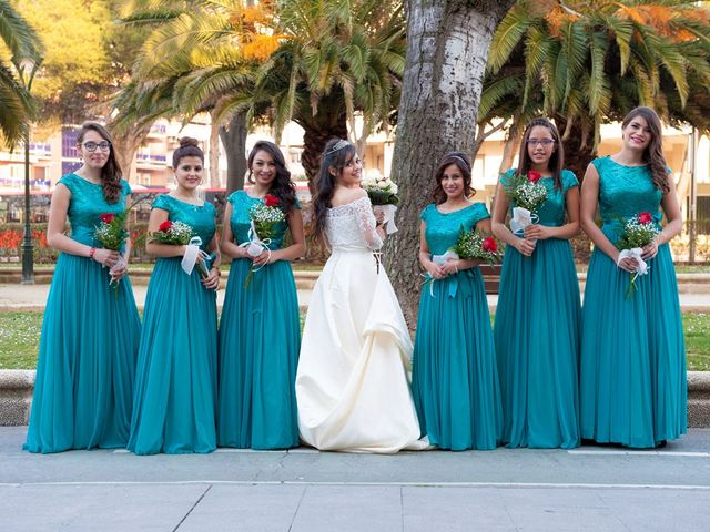 La boda de Geovany y Abril en Zaragoza, Zaragoza 14