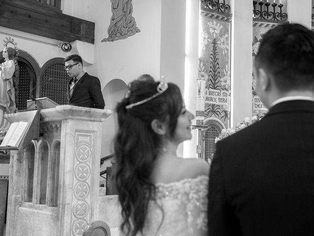 La boda de Geovany y Abril en Zaragoza, Zaragoza 28