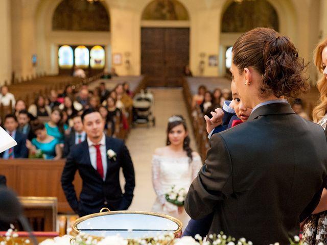 La boda de Geovany y Abril en Zaragoza, Zaragoza 35