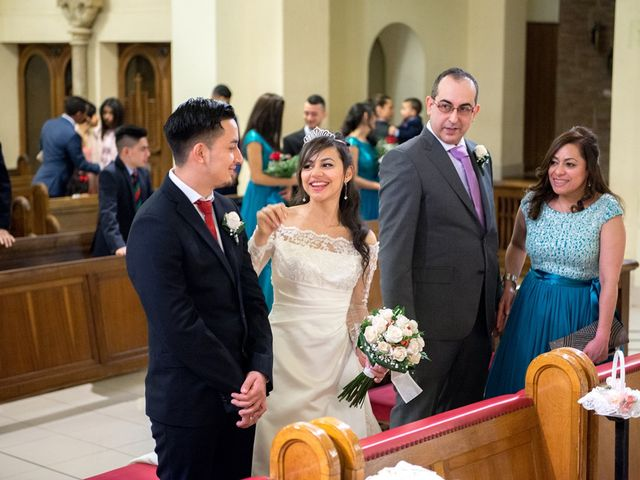 La boda de Geovany y Abril en Zaragoza, Zaragoza 45