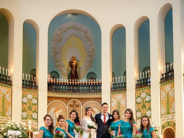 La boda de Geovany y Abril en Zaragoza, Zaragoza 55