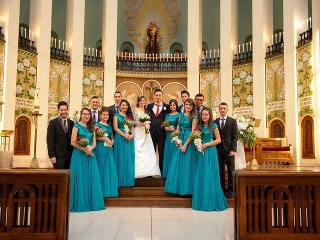 La boda de Geovany y Abril en Zaragoza, Zaragoza 56