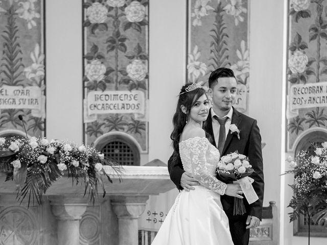 La boda de Geovany y Abril en Zaragoza, Zaragoza 57
