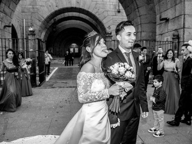 La boda de Geovany y Abril en Zaragoza, Zaragoza 64