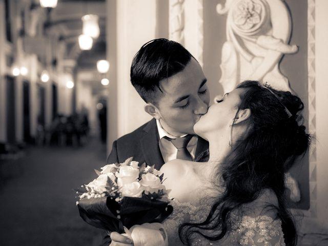 La boda de Geovany y Abril en Zaragoza, Zaragoza 74