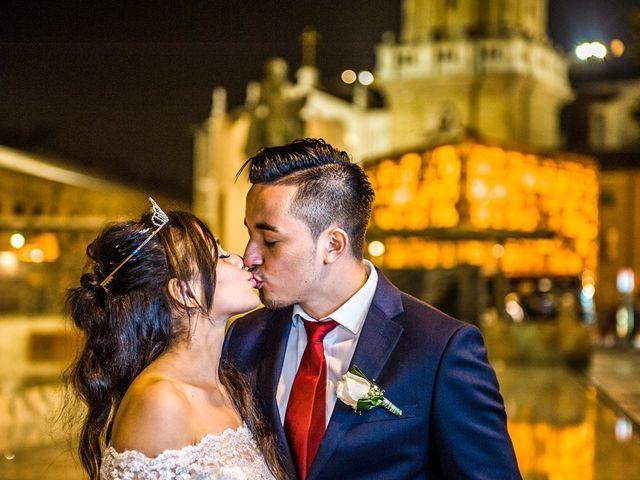 La boda de Geovany y Abril en Zaragoza, Zaragoza 85