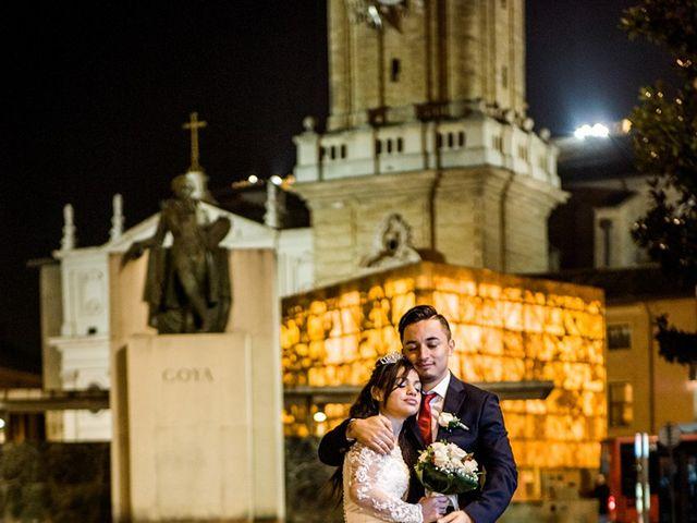 La boda de Geovany y Abril en Zaragoza, Zaragoza 87