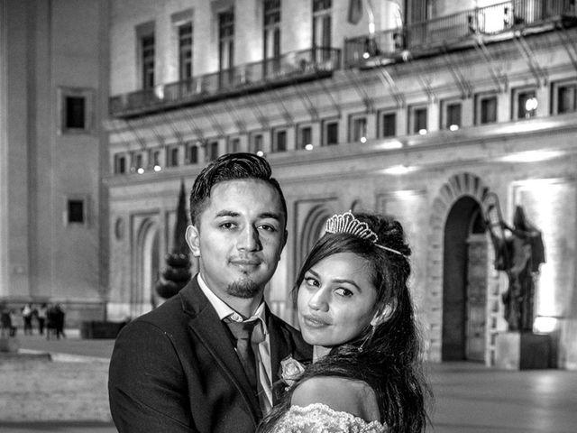 La boda de Geovany y Abril en Zaragoza, Zaragoza 89