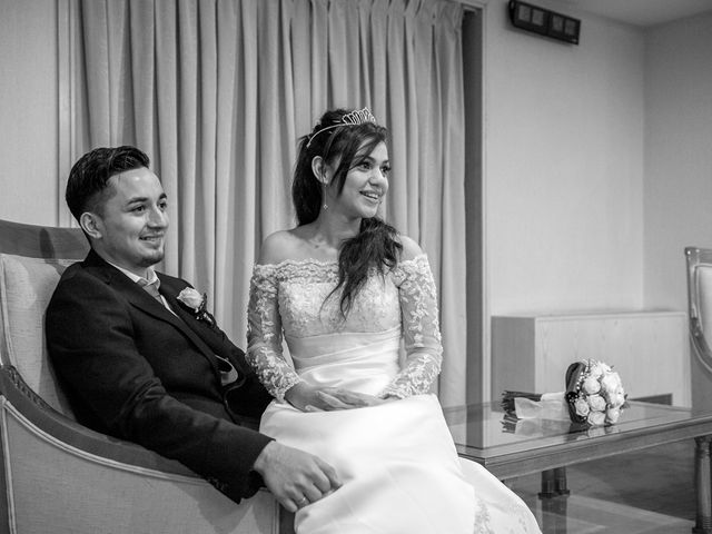 La boda de Geovany y Abril en Zaragoza, Zaragoza 91