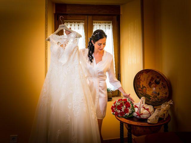 La boda de Ismael y Mari Luz en Valoria La Buena, Valladolid 2