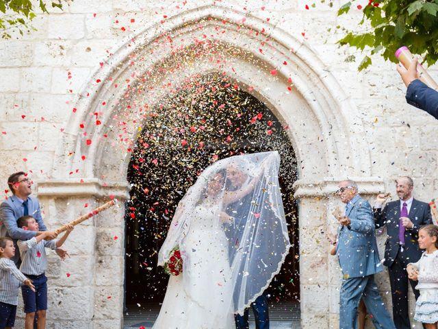 La boda de Ismael y Mari Luz en Valoria La Buena, Valladolid 33