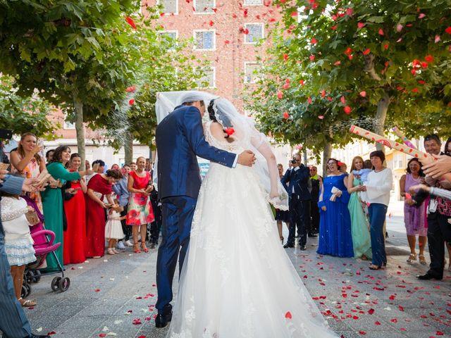 La boda de Ismael y Mari Luz en Valoria La Buena, Valladolid 34