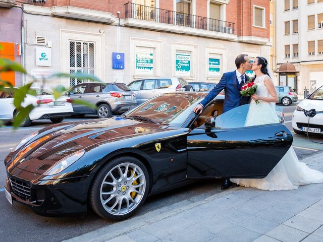 La boda de Ismael y Mari Luz en Valoria La Buena, Valladolid 36